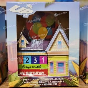 DISNEY PIXAR UP HOUSE EVENT COUNTDOWN CALENDAR